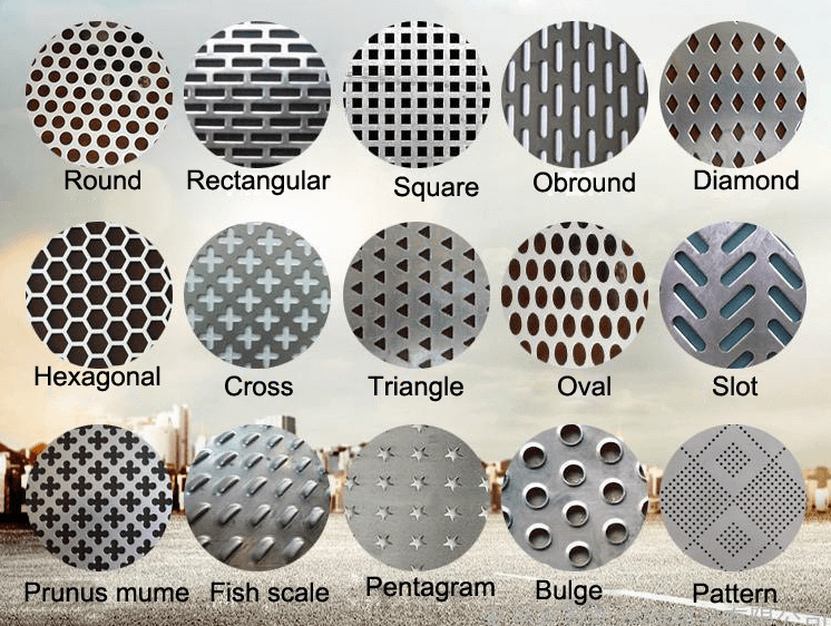 perforated hole shapes